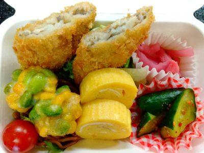 【NEW】魚フライと和泉屋特製卵焼