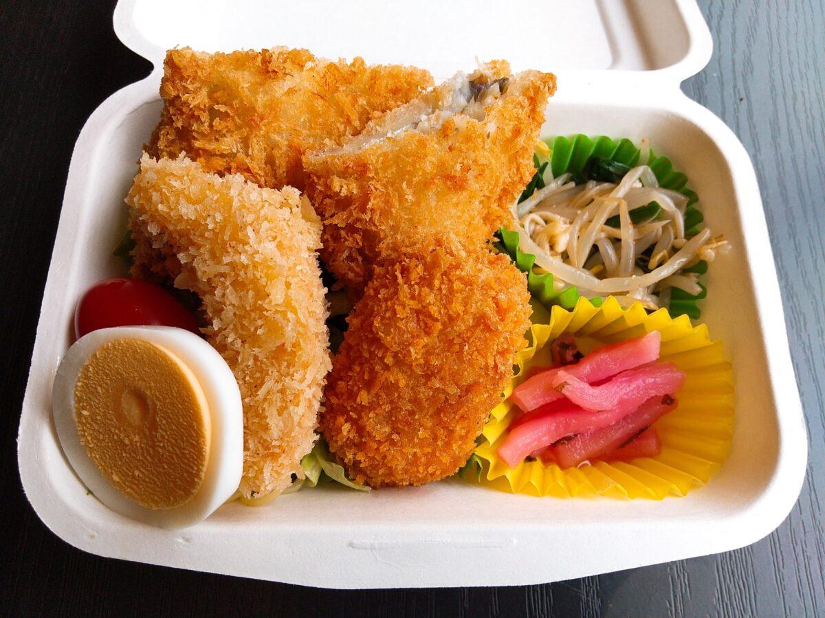 【NEW】ミニグラコロと魚フライ